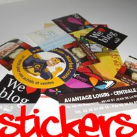 Impression-stickers