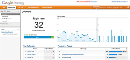 Google-analytics-real-time-preview