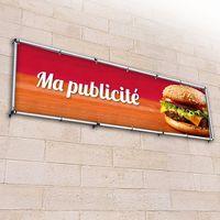 Enseigne magasin banderole publicitaire